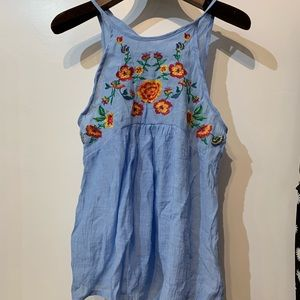 Tops - Floral sleeveless top